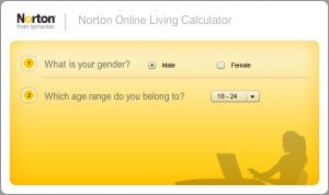 Norton Online Living Calculator