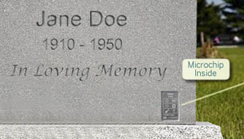 We are beginning to see the digitization of cemeteries. Learn about the first company to sell a enhanced memorial product (a digital headstone).