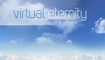 Virtual Immortality: now available at virtualeternity.com