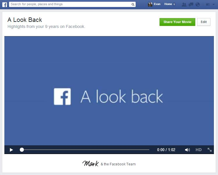 Facebook-Look-Back