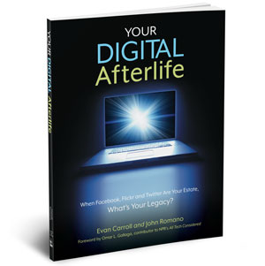Learn more about our new book, Your Digital Afterlife.