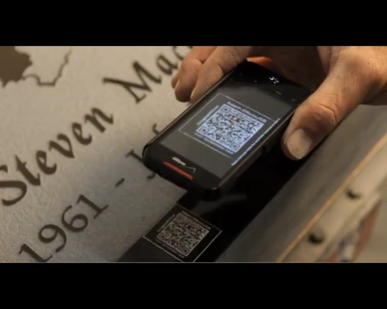 QR Codes, Microchips In Cemeteries